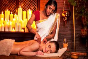 Ayurvedic-massage